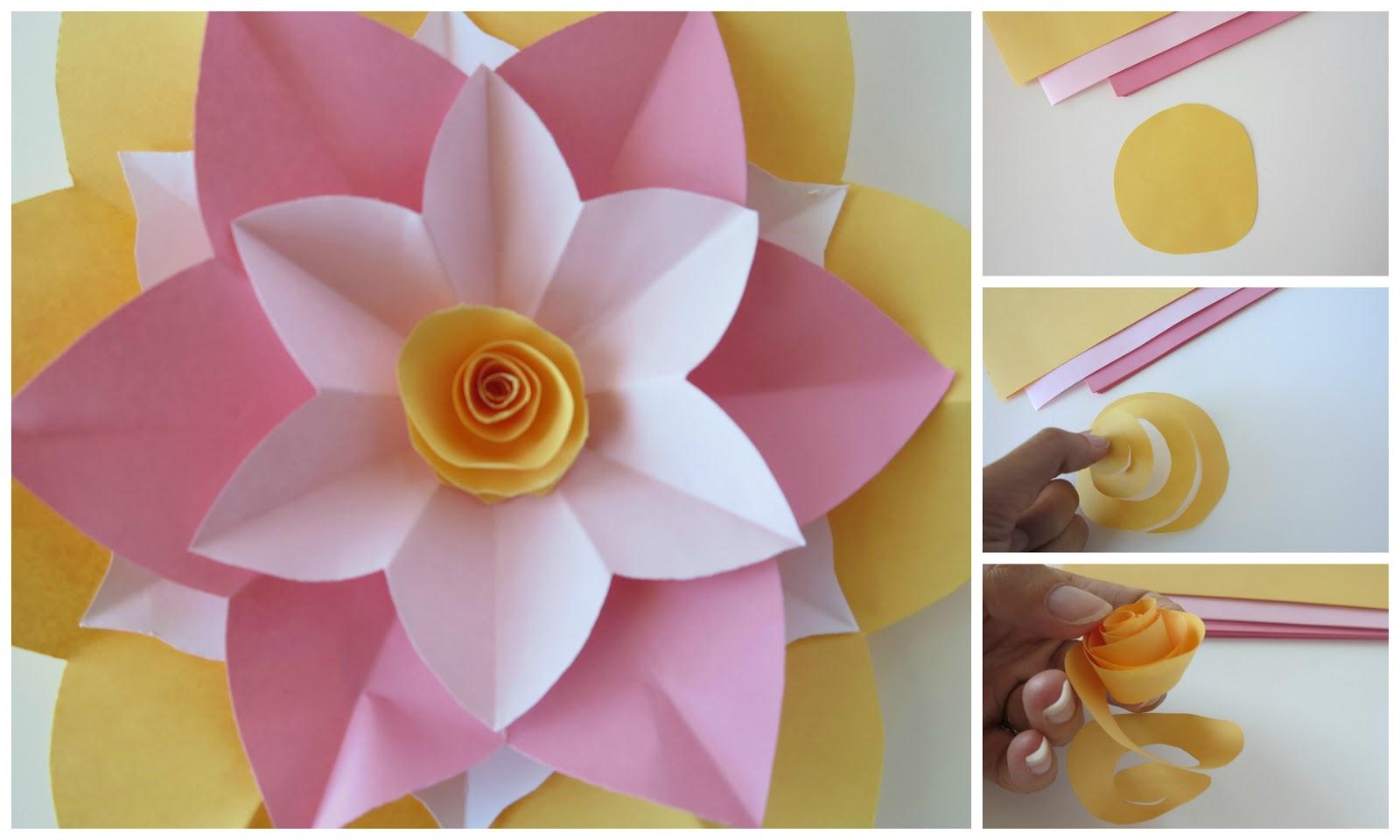 Ashlee Rae Designs Paper Flower Tutorial