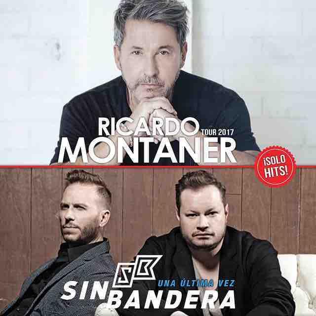 El Gigante de la canción Romántica @ricardomonás  y el duo musical @sinbandera