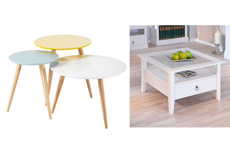 Tables Basses Maison Du Monde Perfect Table Basse Tabourets En Bois Blancs F -> Table Basse Teck Maisons Du Monde