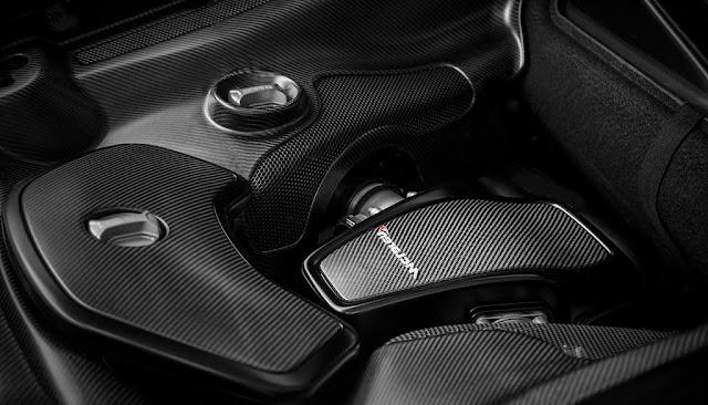 McLaren MSO 650S Coupe Engine Compartment
