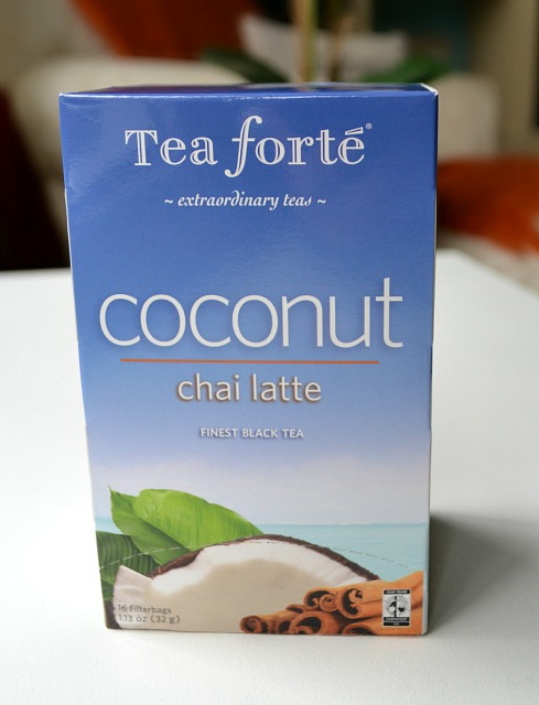 tea forte coconut chai latte tea