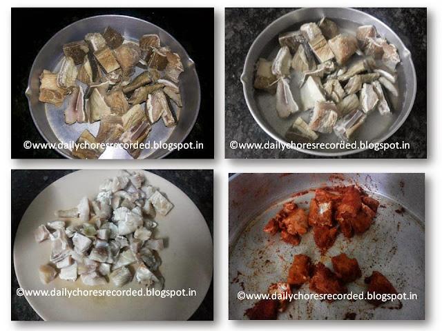Dry Fish Fry | Unakka meen varathadhu | Karuvadu fry