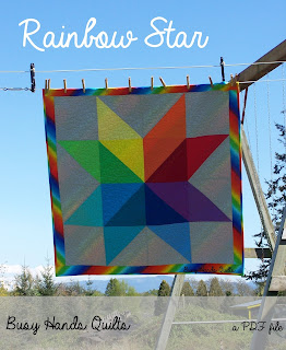Rainbow Star and Streak