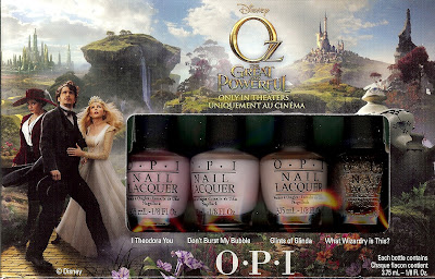 OZ THE GREAT AND POWERFUL Collections from Urban Decay and OPI – Get the Look of Glinda or Theodora