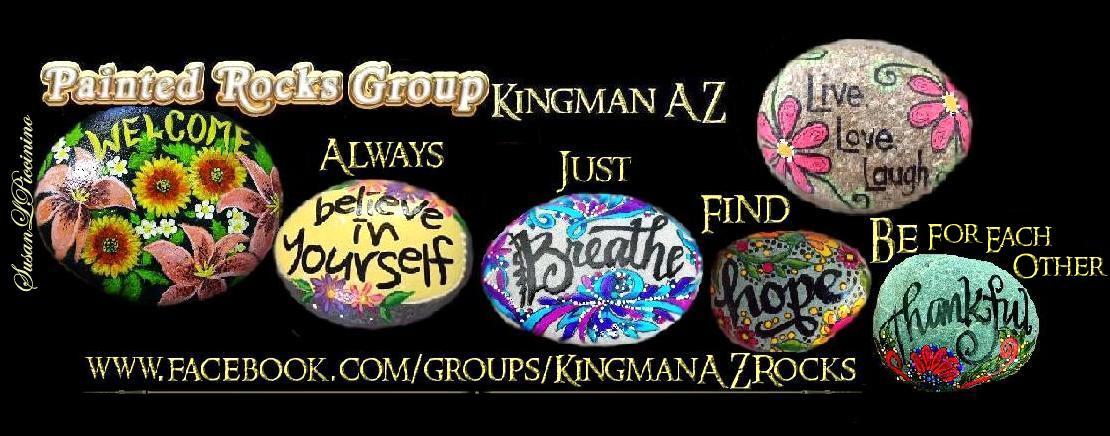 Kingman Arizona Rocks #PaintedRocksKingmanAZ