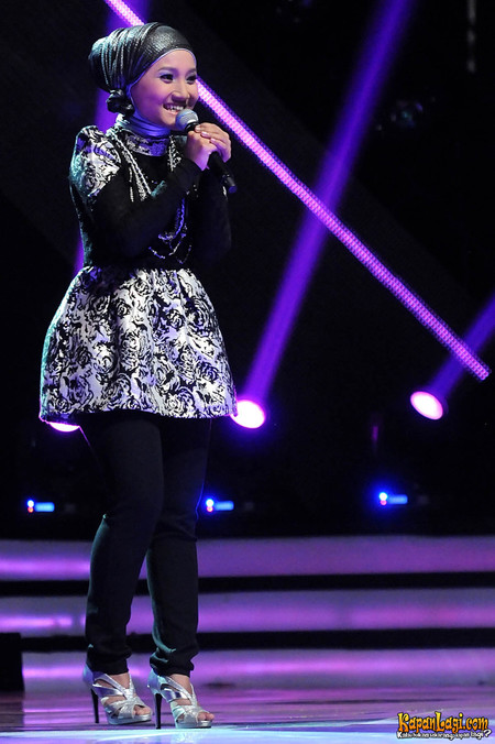 Download Video Fatin Shidqia - Girl On Fire X Factor Indonesia (8 Maret 2013)