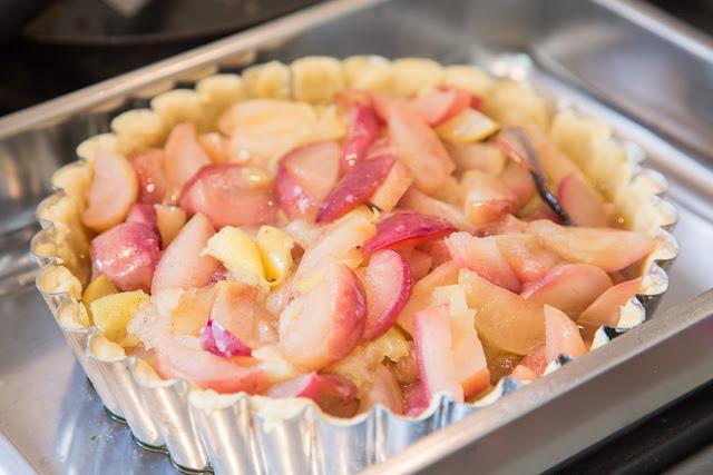 omenatäyte, vaniljatanko