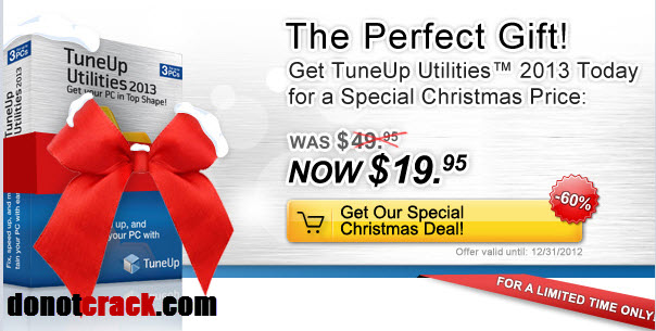 60 OFF TuneUp Utilities™ 2013