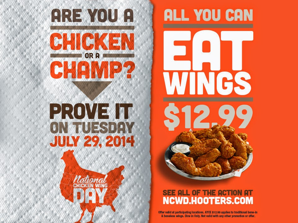 National Chicken Wing Day - Celebrate with All-You-Can-Eat Wings