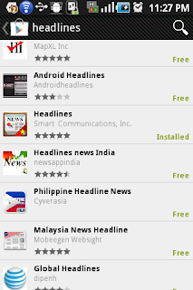 Download Headlines on Google Map