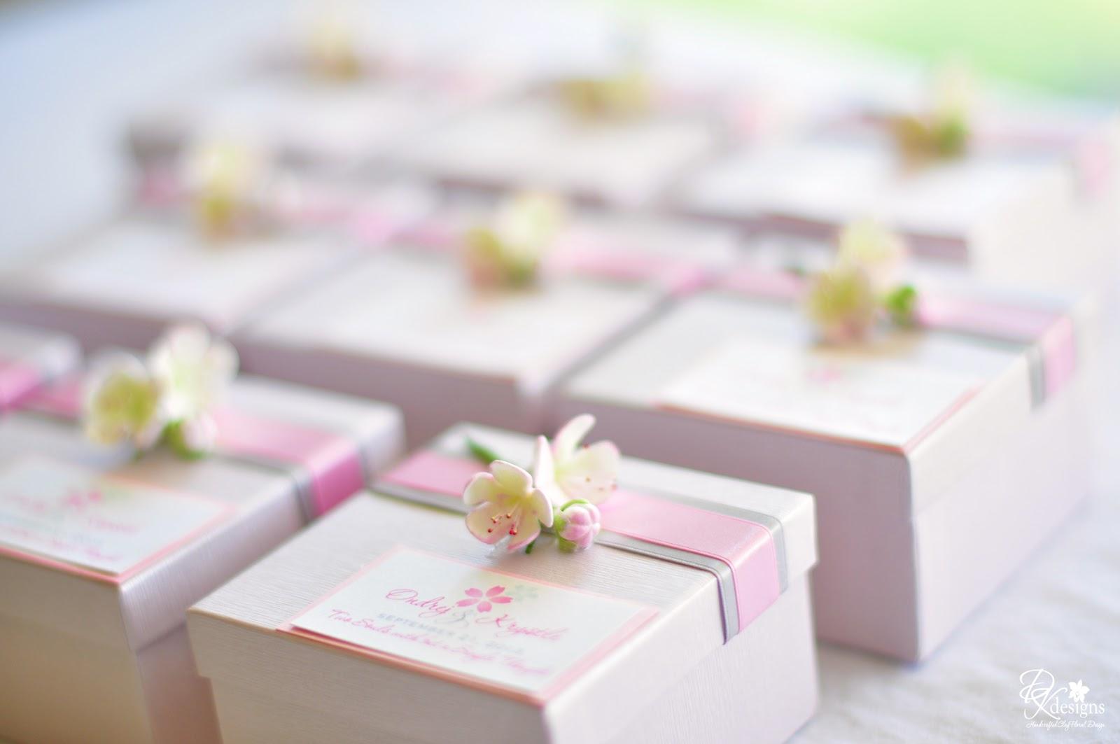 Cherry Blossom Inspired Wedding... - DK Designs