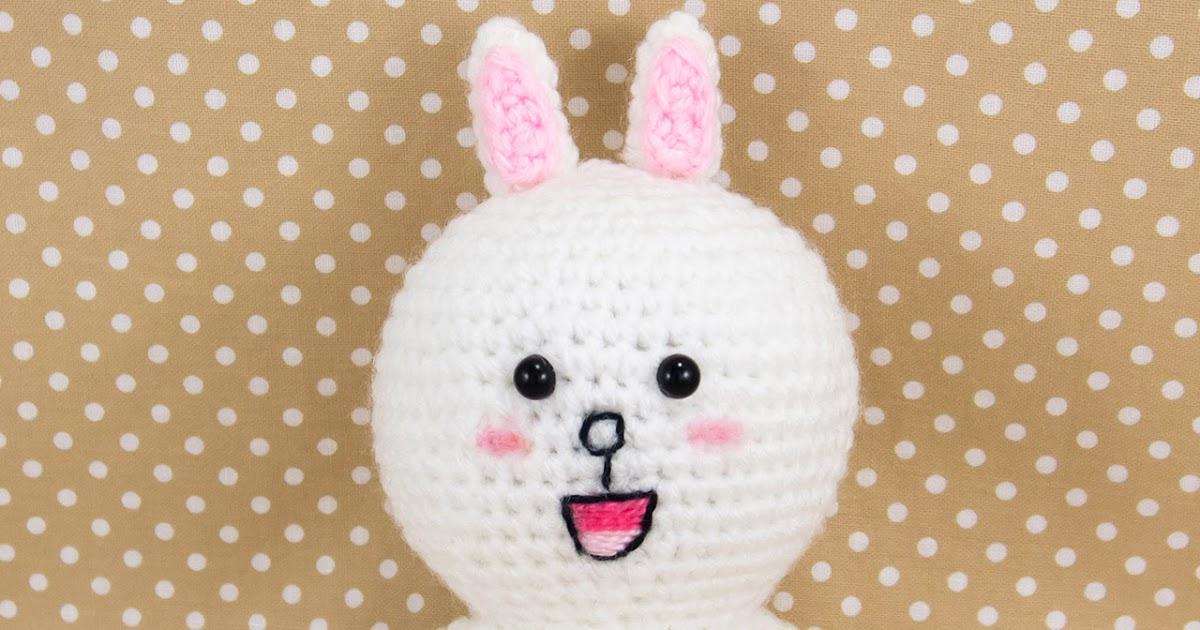 LINE Cony Crochet Amigurumi Pattern (Free) ~ Snacksies ...
