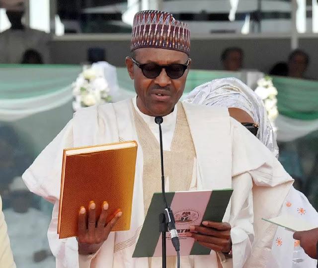 buhari inauguration photos