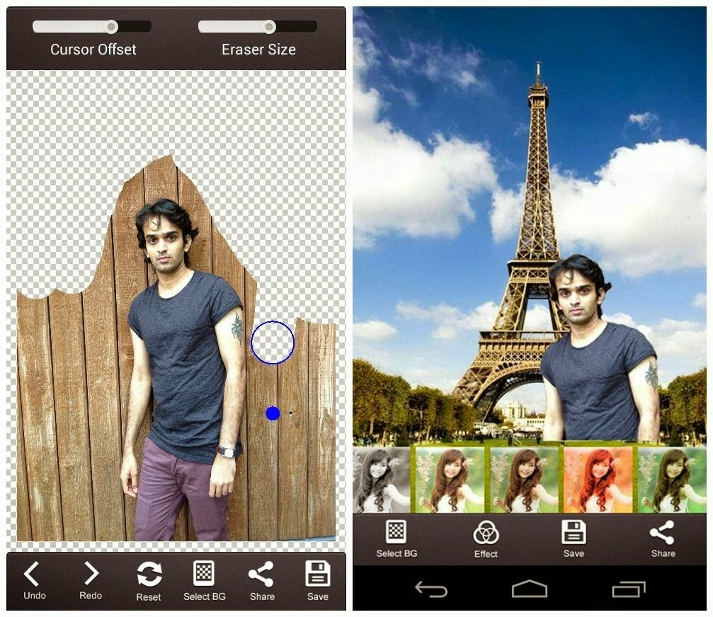 Ganti Background FOTO Terbaik Android