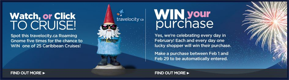 Contests and giveaways travelocity