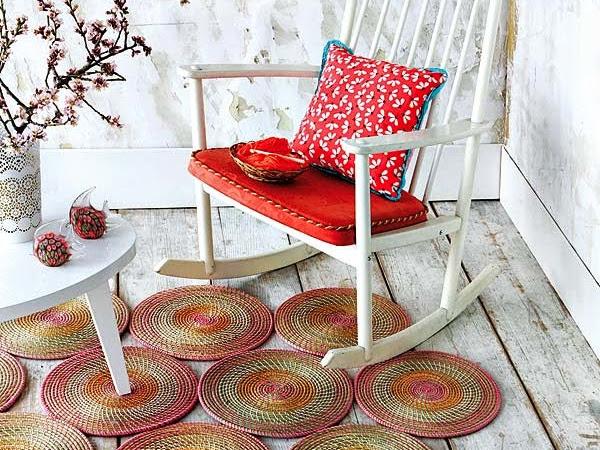 Haz tu propia alfombra de círculos