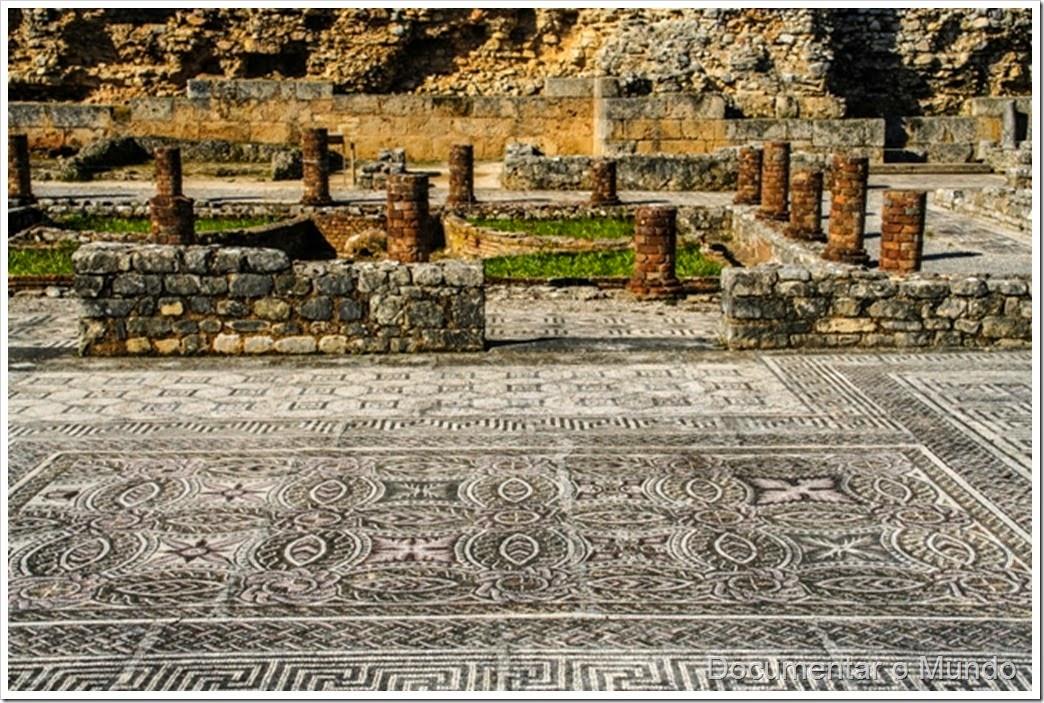 Ruínas de Conímbriga; Vestígios romanos em Portugal; romanização em Portugal