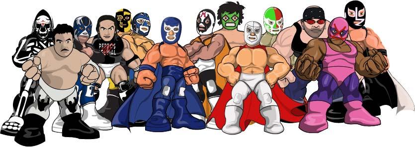 un homenaje a aquellos luchadores que marcaron una época en la lucha ...