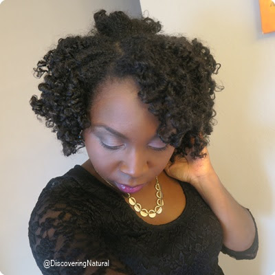 Natural Hair Bantu Knot Out