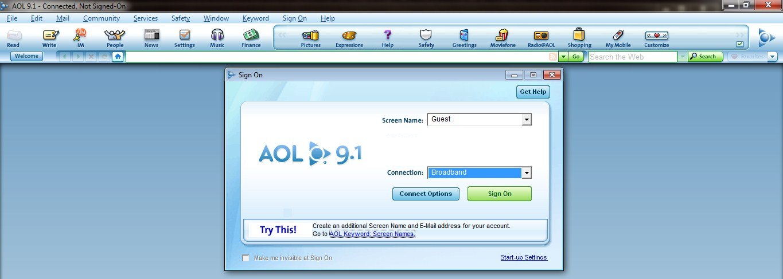 AOL Desktop 9.1 herunterladen