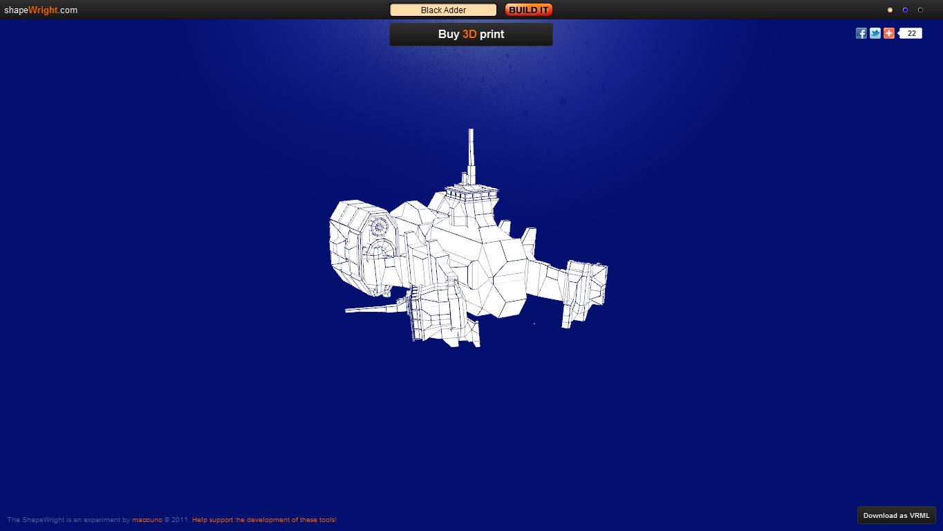 how to create a spaceship
