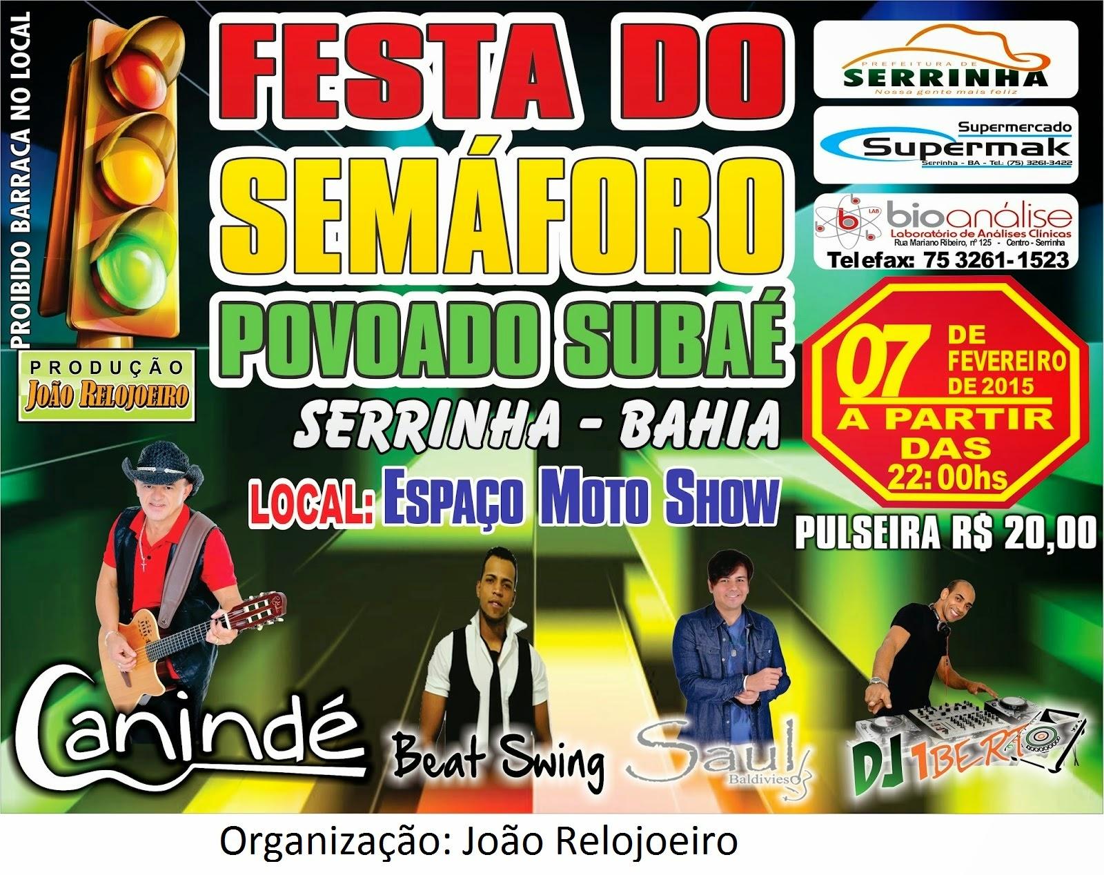 Festa do semáforo Subaé