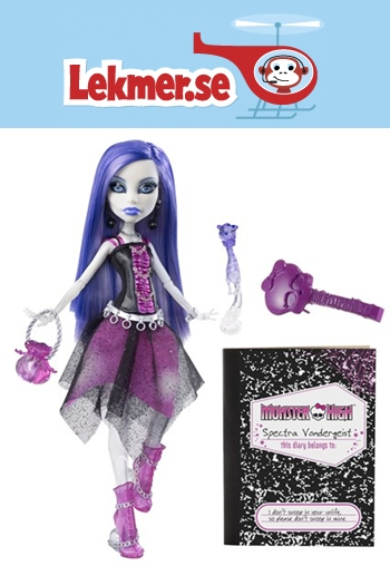 monster high dockhus