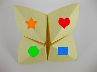 origami kids game