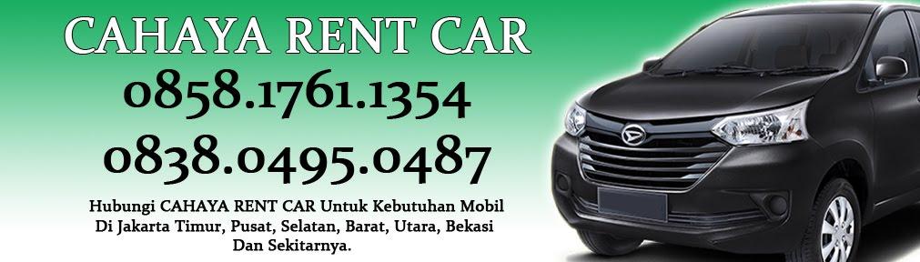 Jasa Sewa mobil & Rental Mobil Murah Di Jakarta Timur, Bekasi (Bisa Lepas Kunci)