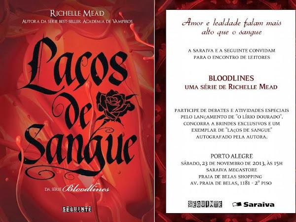 Evento: Encontro de leitores da Editora Seguinte e série Bloodlines em Porto Alegre