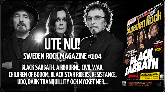 Sweden Rock Magazine UTE NU!