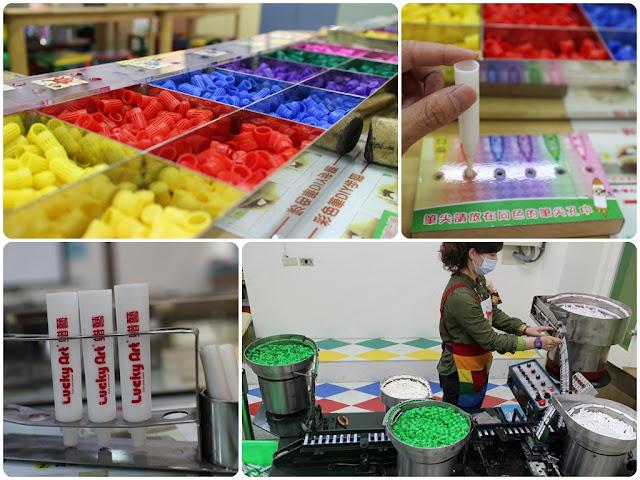 宜蘭,觀光工廠,台北,旅遊,親子,蜡藝彩繪館,蠟藝,蠟筆,水彩筆