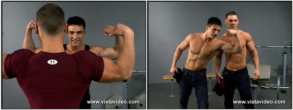 Picture About Muscle Men Philip & Mike: The Growing Arm Series