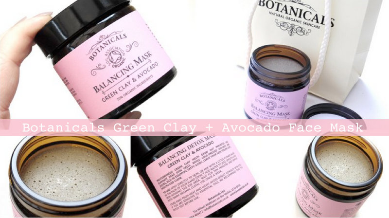Review: Botanicals Balancing Detox Mask