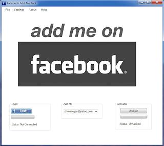 Facebook Auto Add Me Tool v.1.00