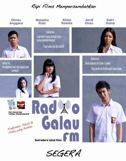 ... Film ini seperti apa, bisa diliat Cuplikan Film Radio Galau FM DISINI