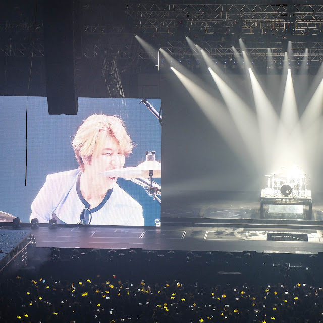 Daesung on drums  | heyladyspring.com