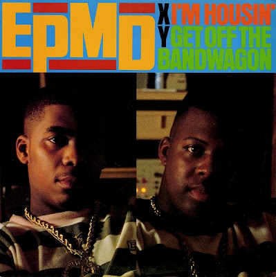 EPMD – I'm Housin' / Get Off The Bandwagon (4-Track VLS) (1989) (320 kbps)
