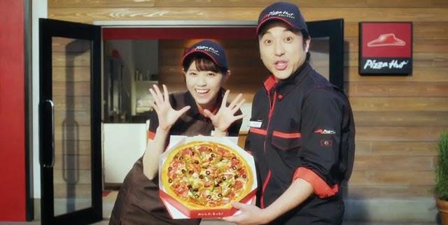 Iklan Baru Nishino Nanase Untuk Pizza Hut