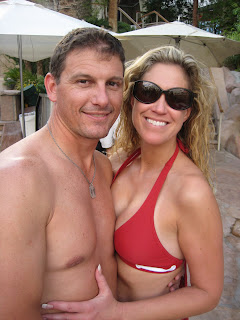 Chad and Heidi at Rehab.