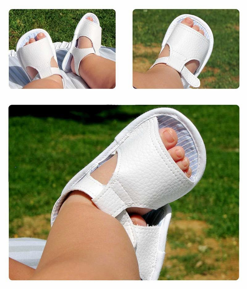 Como hacer unas sandalias de bebe ~ A coser Patrones y mas