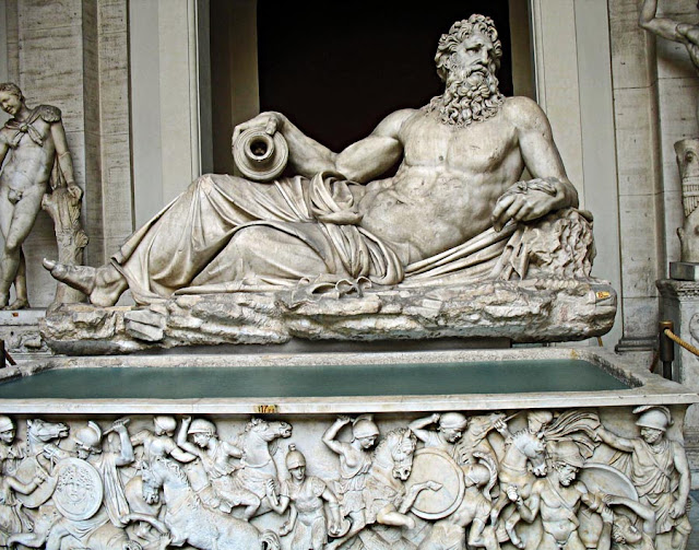 Greek River God Tiber