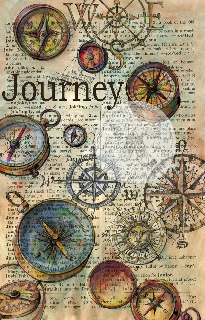 06-Journey-Kristy-Patterson-Flying-Shoes-Art-Studio-Dictionary-Drawings-www-designstack-co