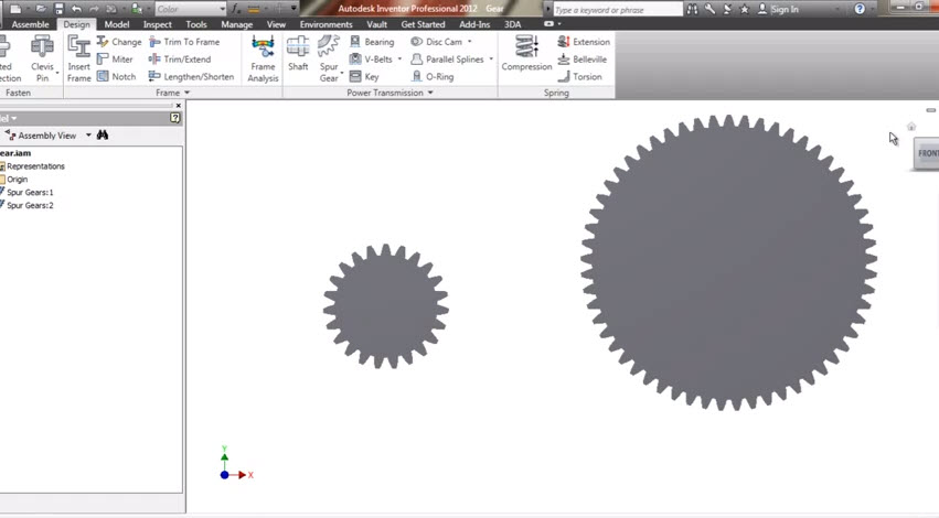 Autodesk Autocad And Inventor Tutorial