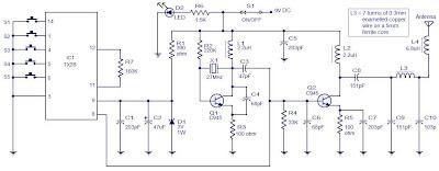 5 Channel Radio Remote Control