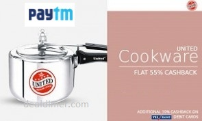 United-pressure-cookers-extra-55-cashback-paytm