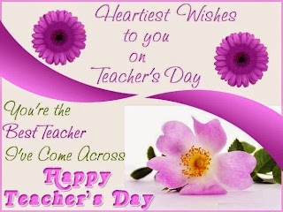 Speech on Teachers Day 2015 (Start)