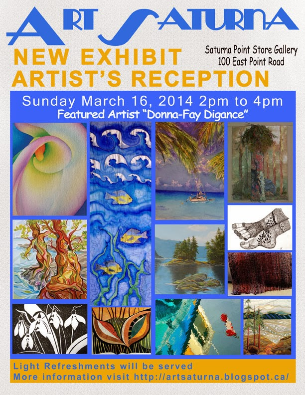 ArtSaturna Spring 2014 Art Show
