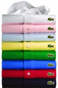 Peter Saville Abstracts Lacoste Logo For Holiday Collector Polo Shirts