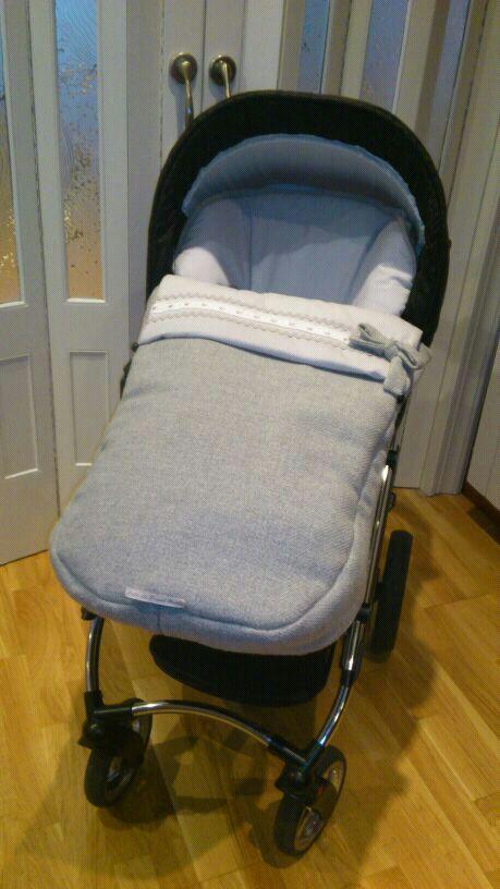 El saco de victor nube de papel beb s for Saco invierno maclaren
